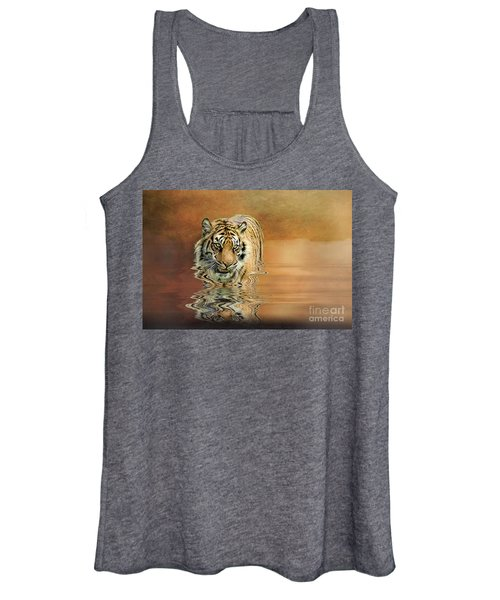 Tiger Reflections Women's Tank Top