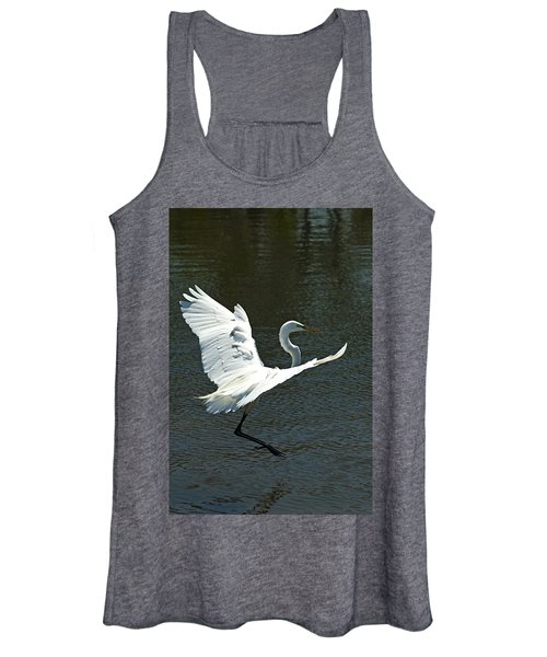 Time To Land Women's Tank Top