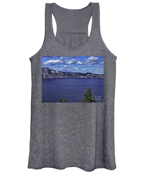 Tiny Boat On Big Water Women's Tank Top