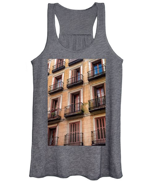 Tiny Iron Balconies Women's Tank Top