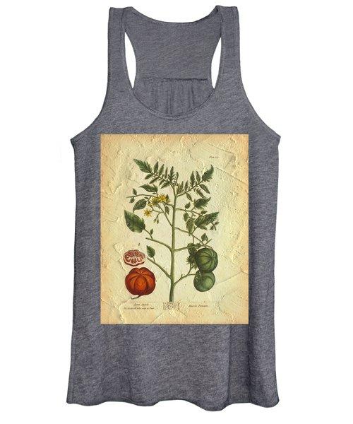 Tomato Plant Vintage Botanical Women's Tank Top