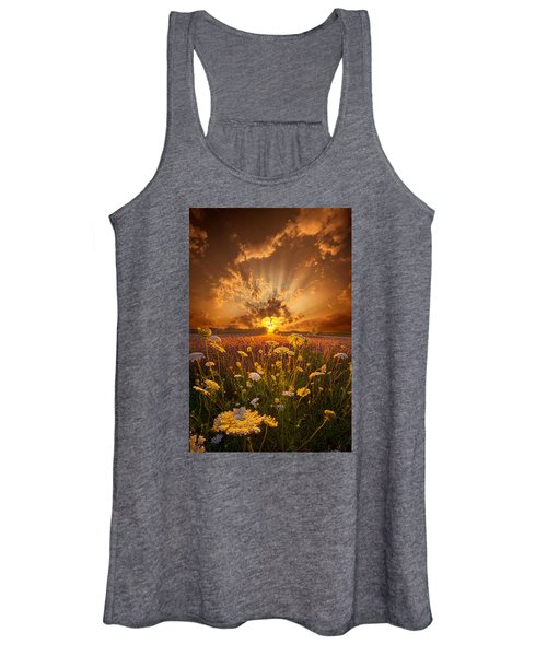 Tomorrow Is Just One Of Yesterday's Dreams Women's Tank Top