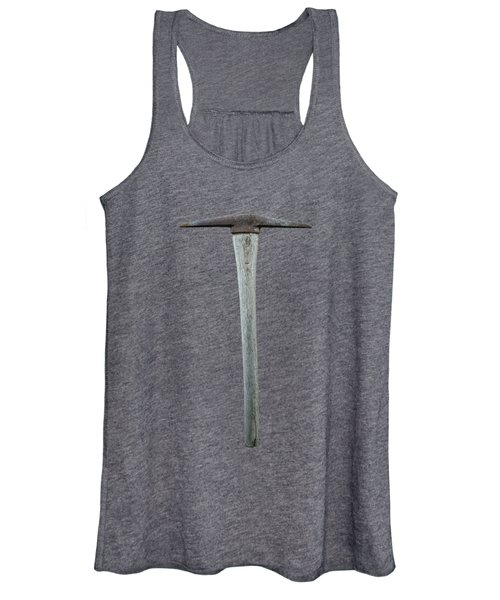 Tools On Wood 13 On Bw Women's Tank Top