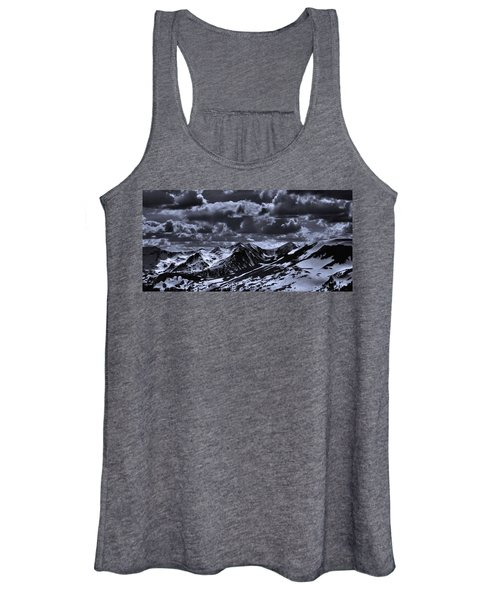 Top Of The Rocky Mountains From Trail Ridge Road Women's Tank Top
