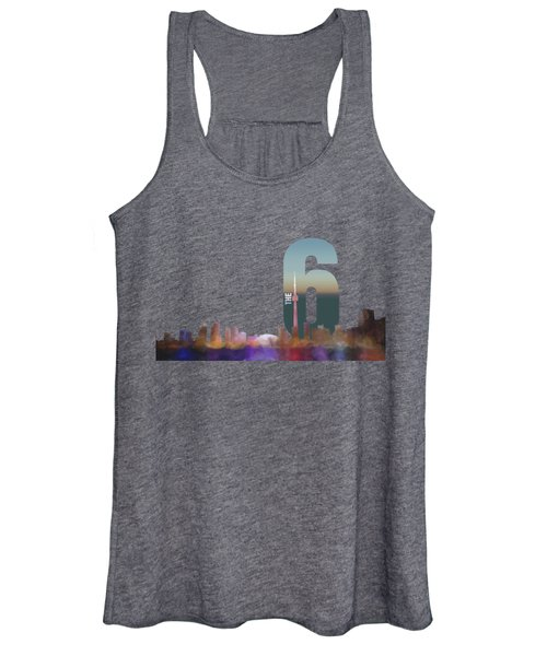 Toronto Skyline - The Six Women's Tank Top