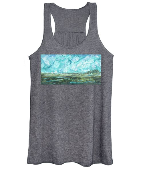 Toward Pinckney Island Women's Tank Top