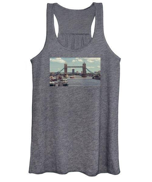 Tower Bridge B Women's Tank Top