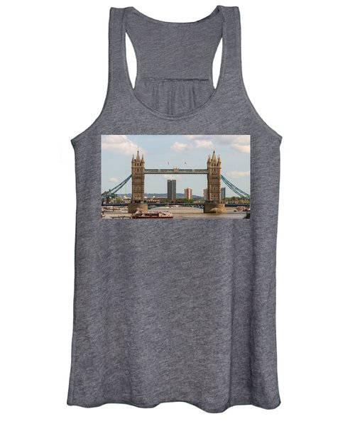 Tower Bridge C Women's Tank Top