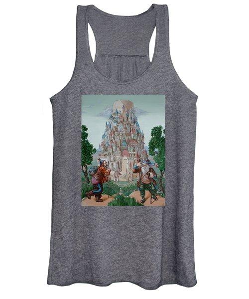 Tower Of Babel Women's Tank Top