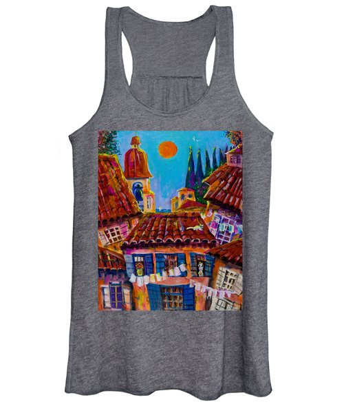Town By The Sea Women's Tank Top