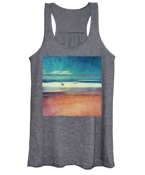 Traces In The Sand Women's Tank Top
