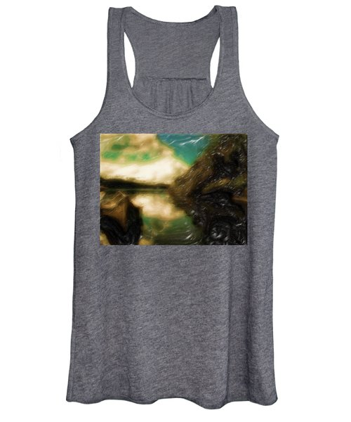 Tranquil Nature Awaits Women's Tank Top