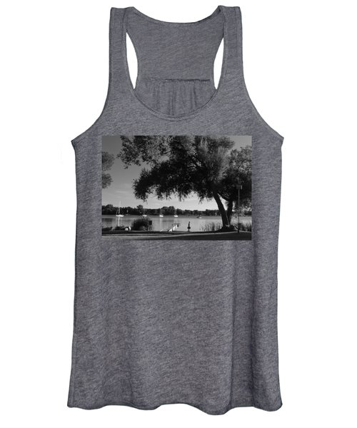 Tree At The Water Women's Tank Top