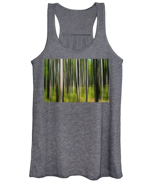 Tree Painting Women's Tank Top
