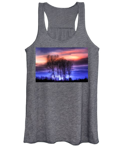 Trees And Twilight Women's Tank Top