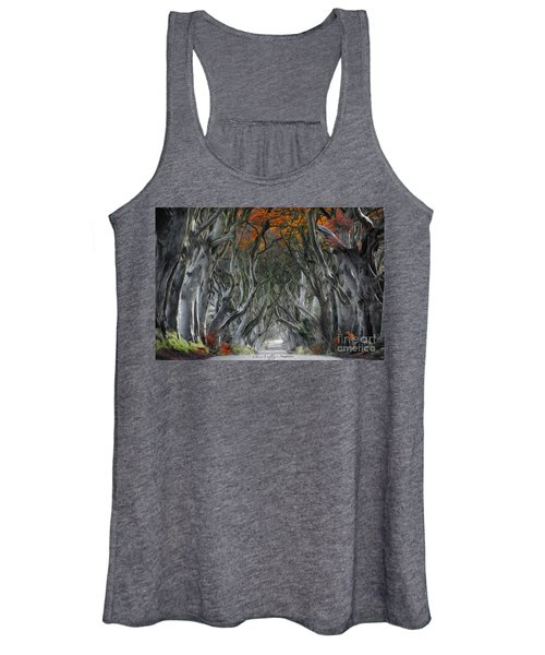 Trees Embracing Women's Tank Top