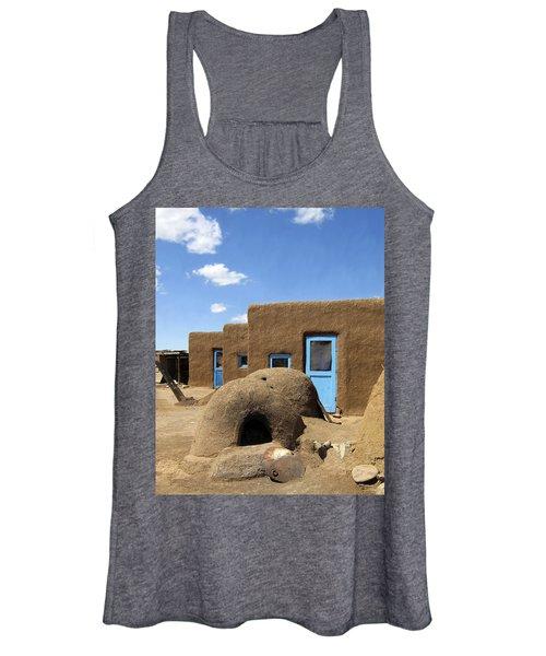 Tres Casitas Taos Pueblo Women's Tank Top