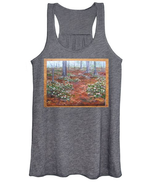 Trilliums After The Rain Women's Tank Top