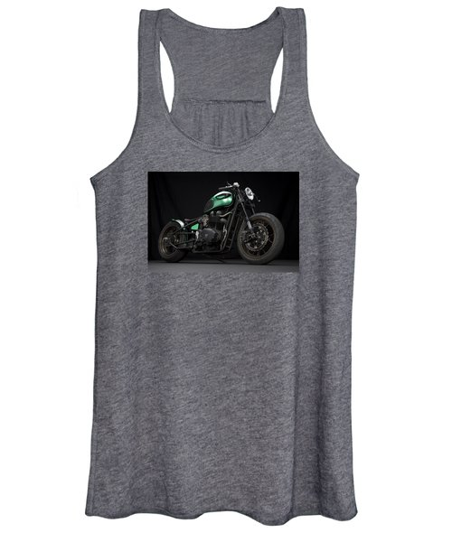 Triumph Green Bobber Women's Tank Top