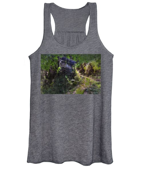Trolley Bus Into The Jungle Women's Tank Top