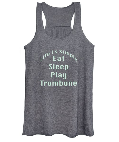 Trombone Eat Sleep Play Trombone 5518.02 Women's Tank Top