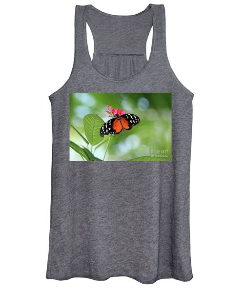 Tropical Hecale Butterfly Women's Tank Top