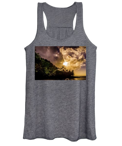 Tropical Sunset Women's Tank Top