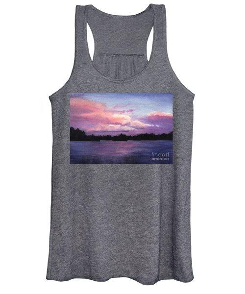 Trout Lake Sunset I Women's Tank Top