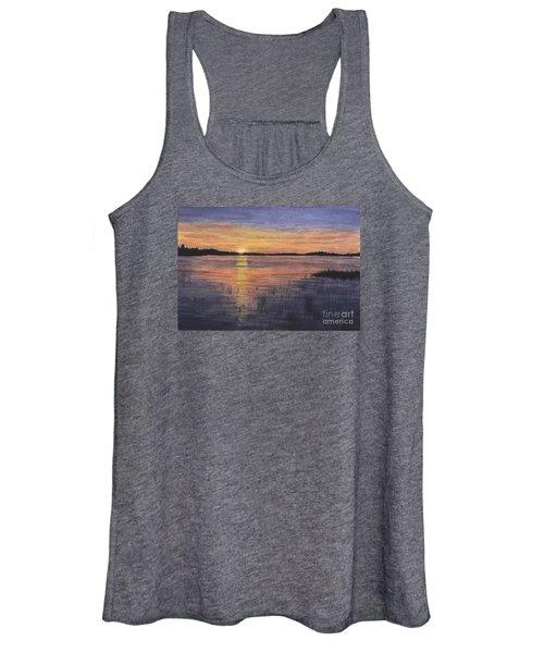 Trout Lake Sunset II Women's Tank Top
