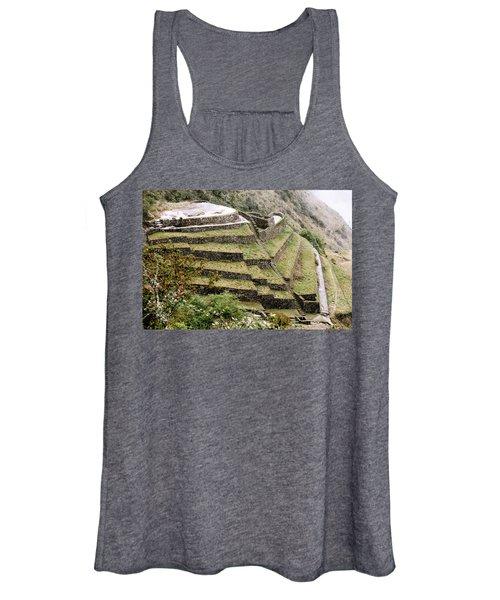 Tucked In A Mountain Women's Tank Top