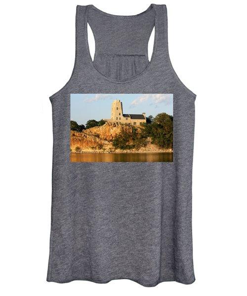 Tucker's Tower Lake Murray Oklahoma Women's Tank Top