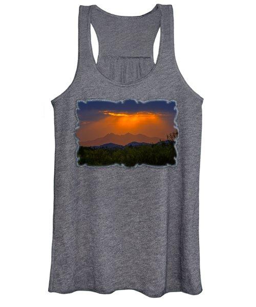 Tucson Mountains Sunset H29 Women's Tank Top