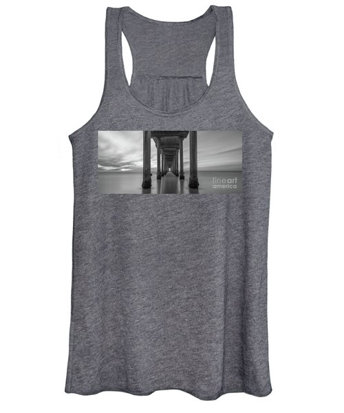 Tunnel Vision Bw  Women's Tank Top