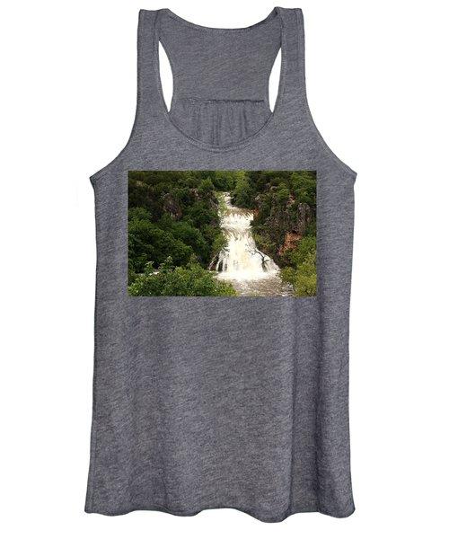 Turner Falls Waterfall Women's Tank Top
