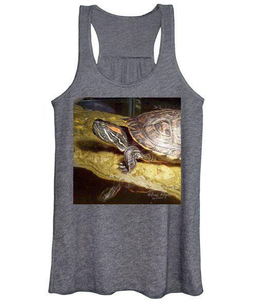 Turtle Reflections Women's Tank Top