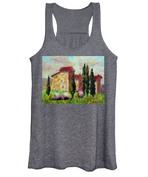 Tuscan House With Hay Women's Tank Top