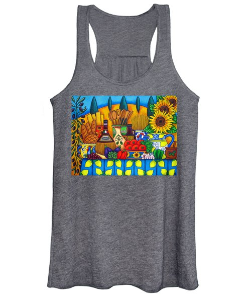 Tuscany Delights Women's Tank Top