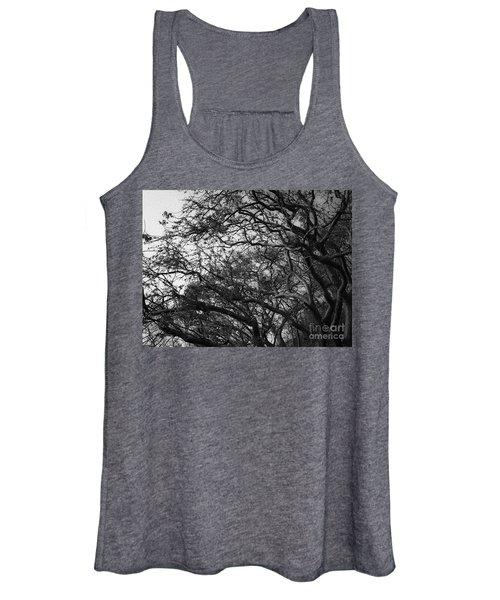 Twirling Branches Women's Tank Top