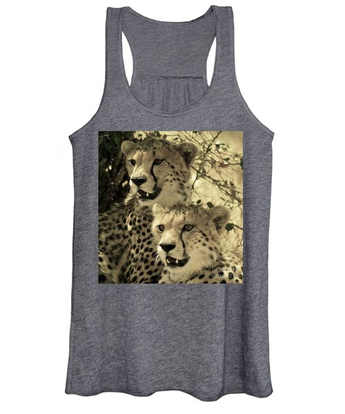 Two Cheetahs Women's Tank Top