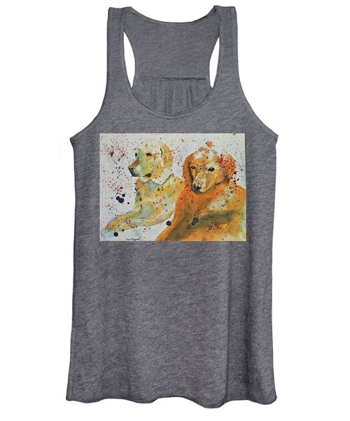 Two Dogs Women's Tank Top