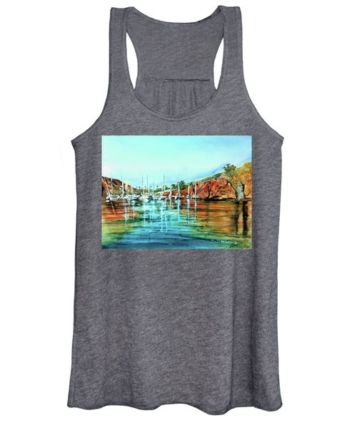 Two Harbors Catalina Morning Impressions Women's Tank Top