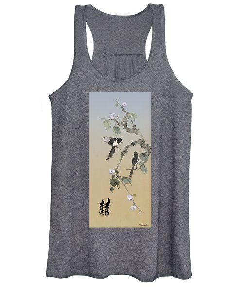 Two Magpies                       Women's Tank Top