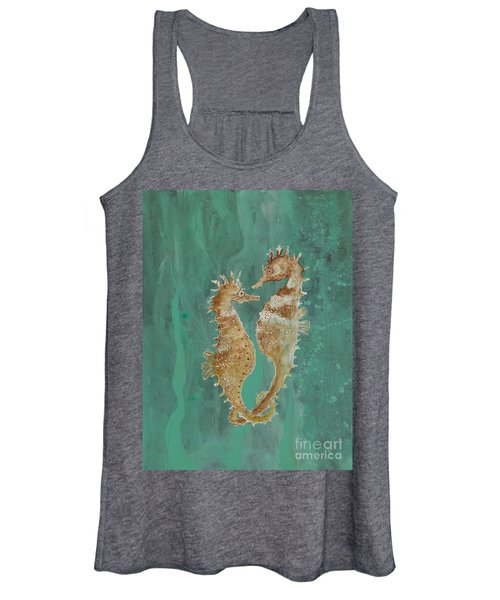 Two Seahorse Lovers Women's Tank Top