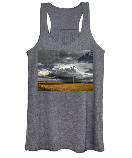 Two Tone Women's Tank Top