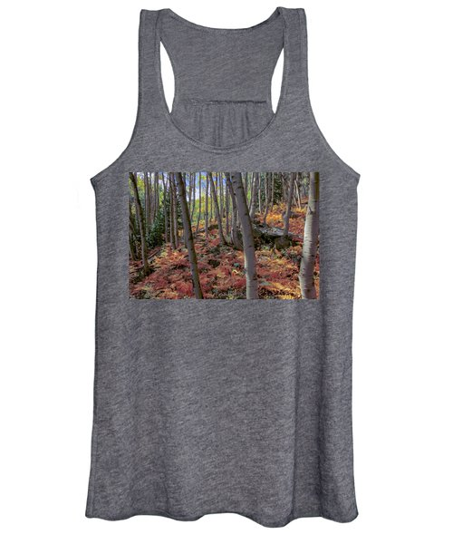 Under The Aspens Women's Tank Top