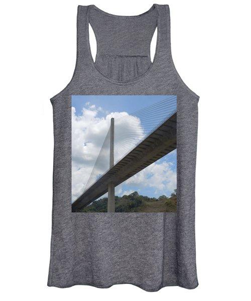 Under The Bridge Through Panama Women's Tank Top