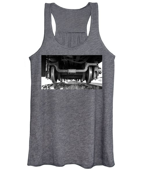 Under The Train Women's Tank Top