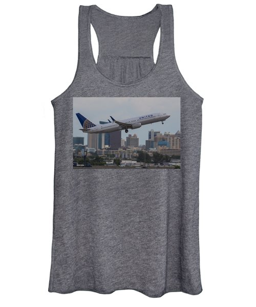 United Airlinea Women's Tank Top
