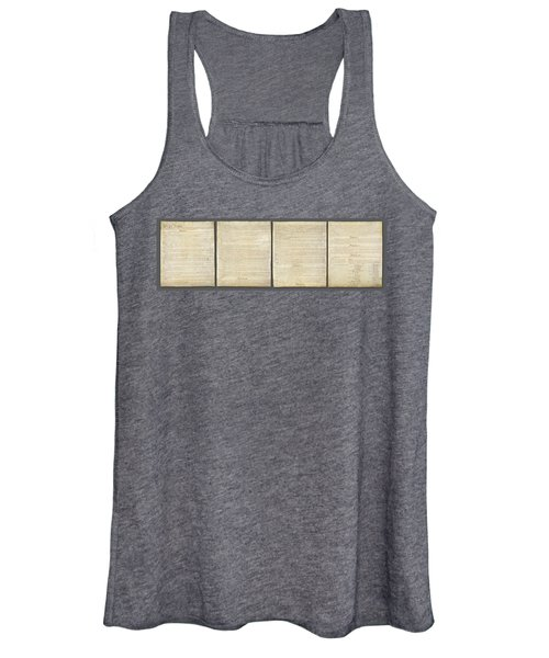 United States Constitution, Usa Women's Tank Top