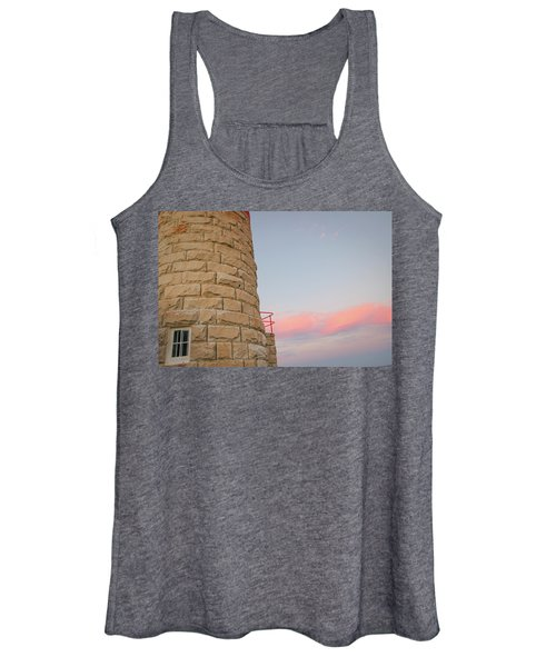 Close-up Detail Of The Cape Moreton Lighthouse Women's Tank Top